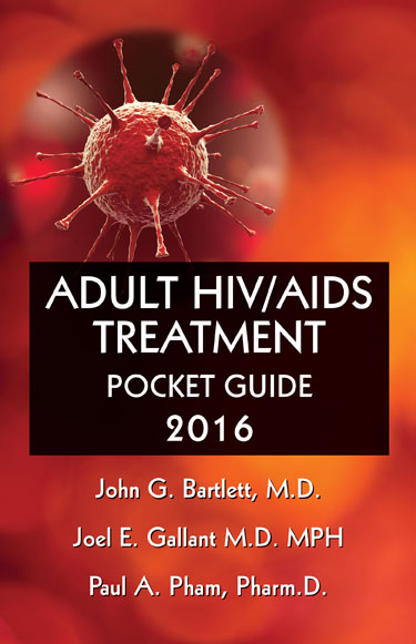 Adult HIV/AIDS Treatment Pocket Guide